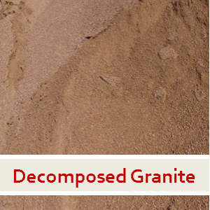 14. Decomposed Granite