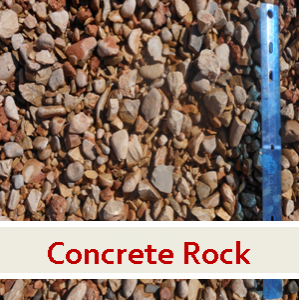 6. Concrete Rock